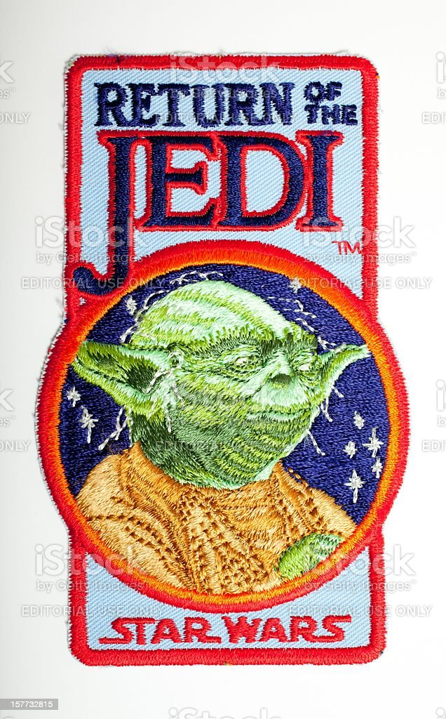 Return Of The Jedi Crew Patch stock photo