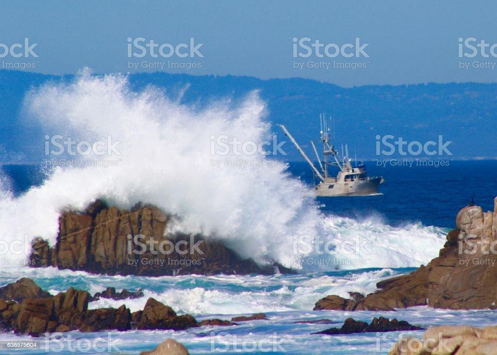 Return to Port stock photo