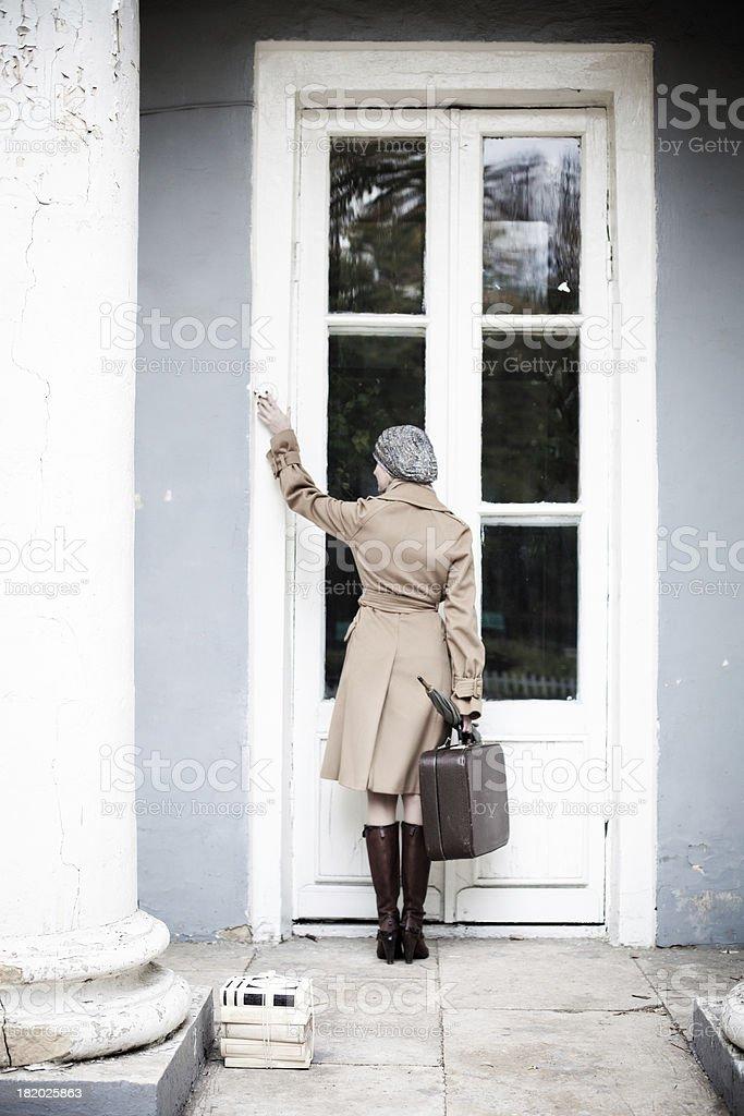 Returning home royalty-free stock photo