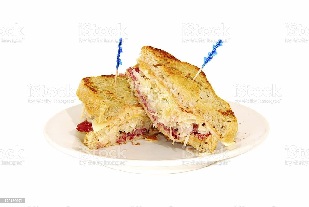 Reuben royalty-free stock photo