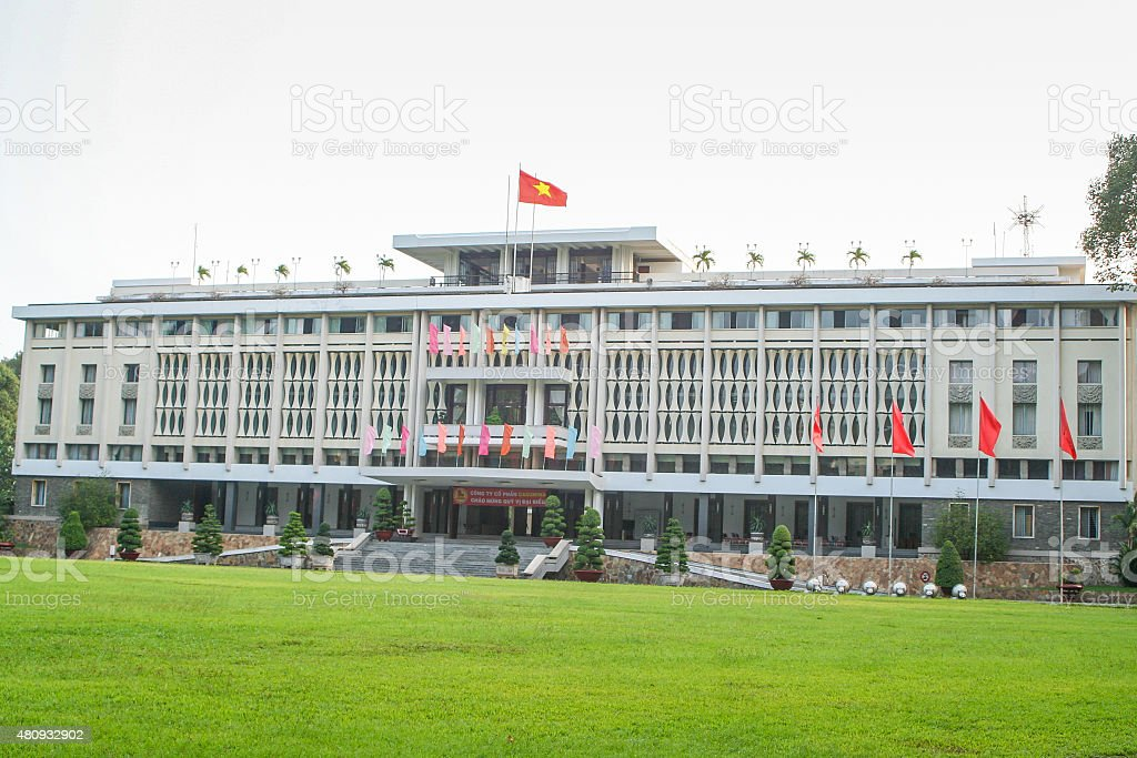 Reunification Palace - Independence Palace - Vietnam stock photo