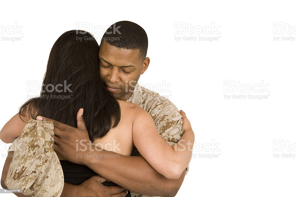 Reunited royalty-free stock photo