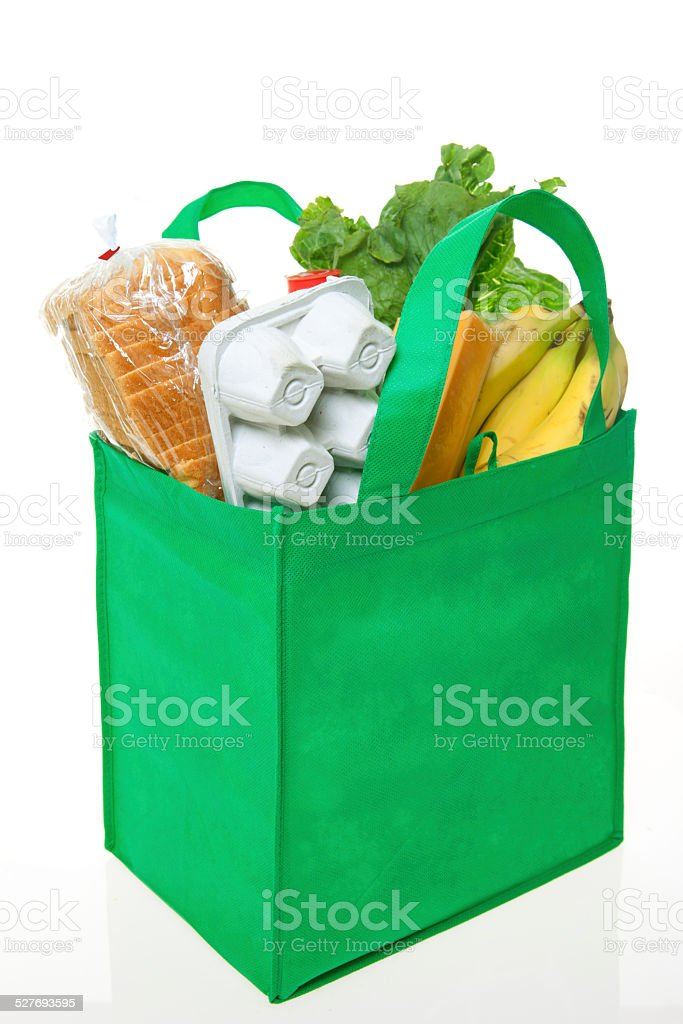 Reusable Grocery Bag stock photo
