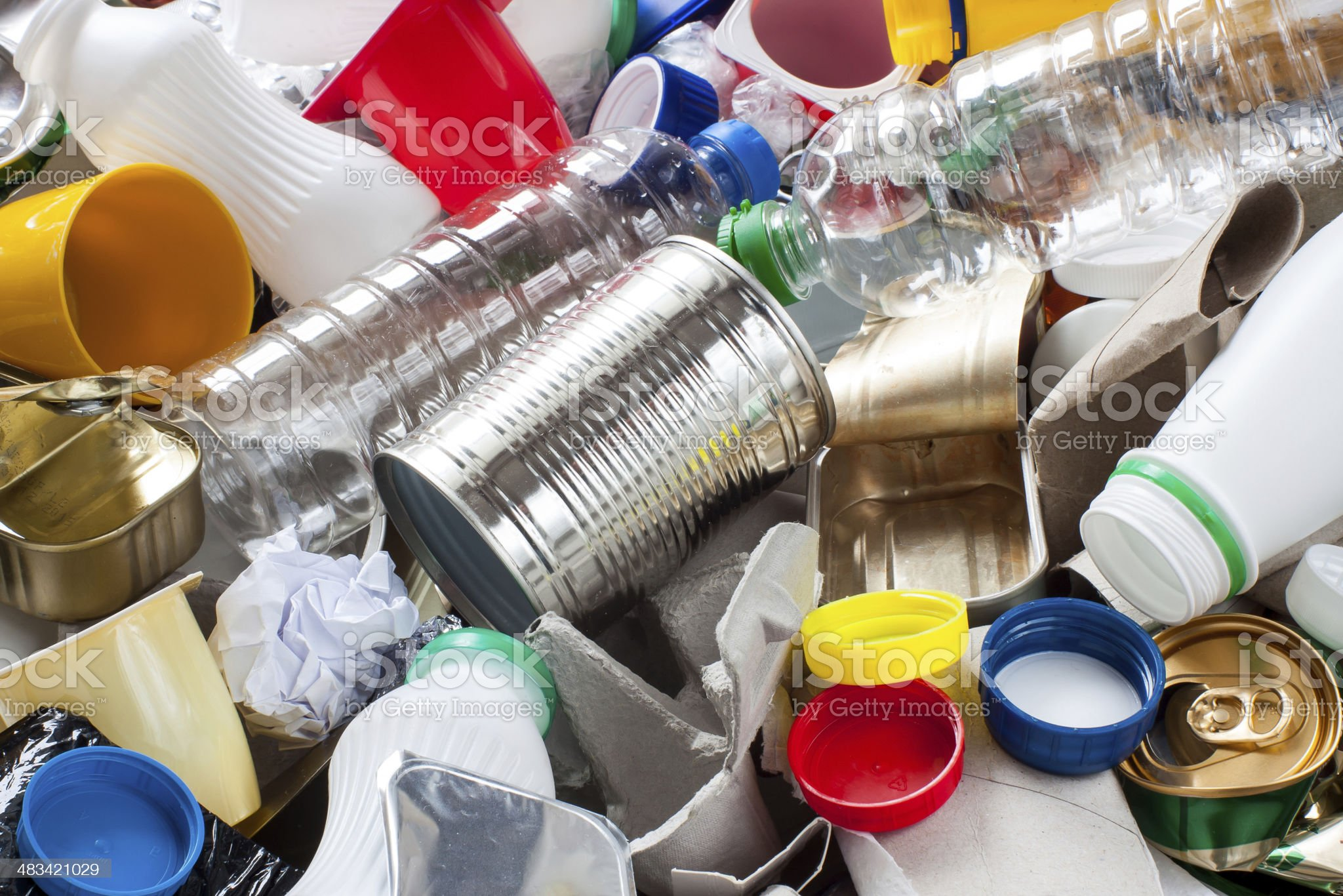 Reusable waste royalty-free stock photo