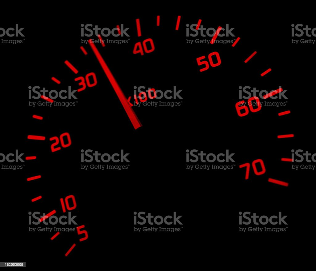 Rev Counter royalty-free stock photo
