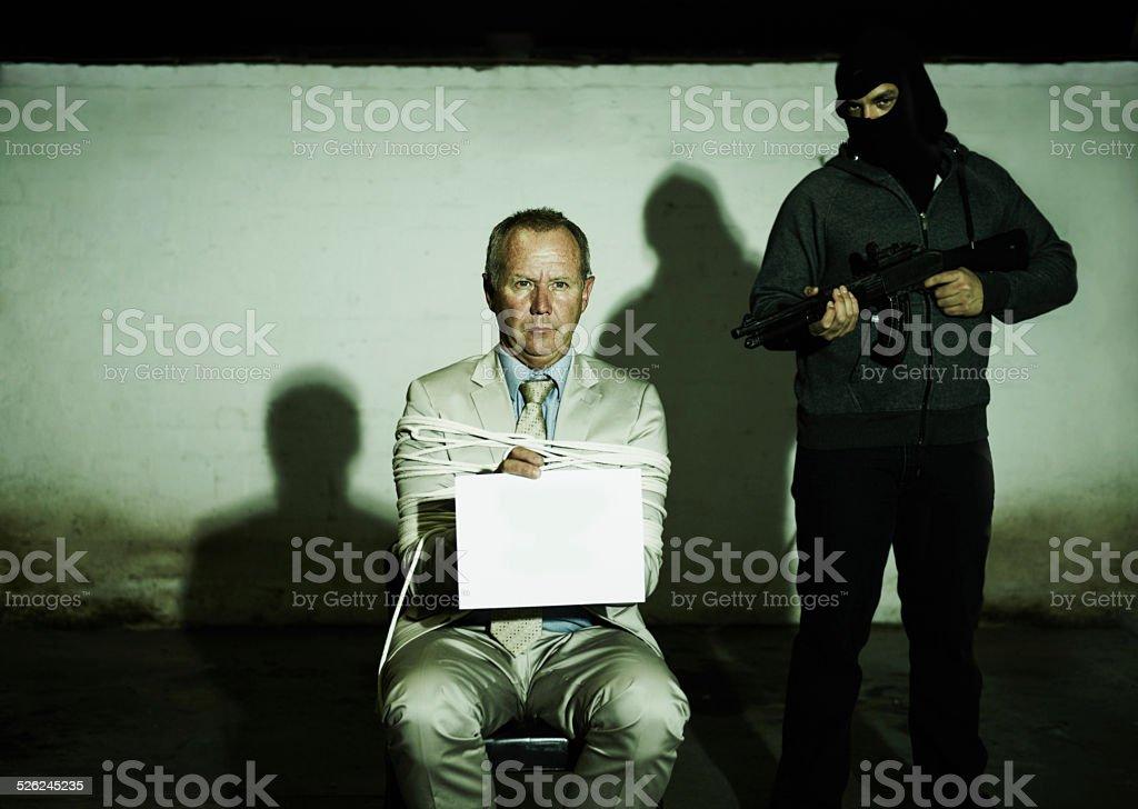 Revealing their demands stock photo