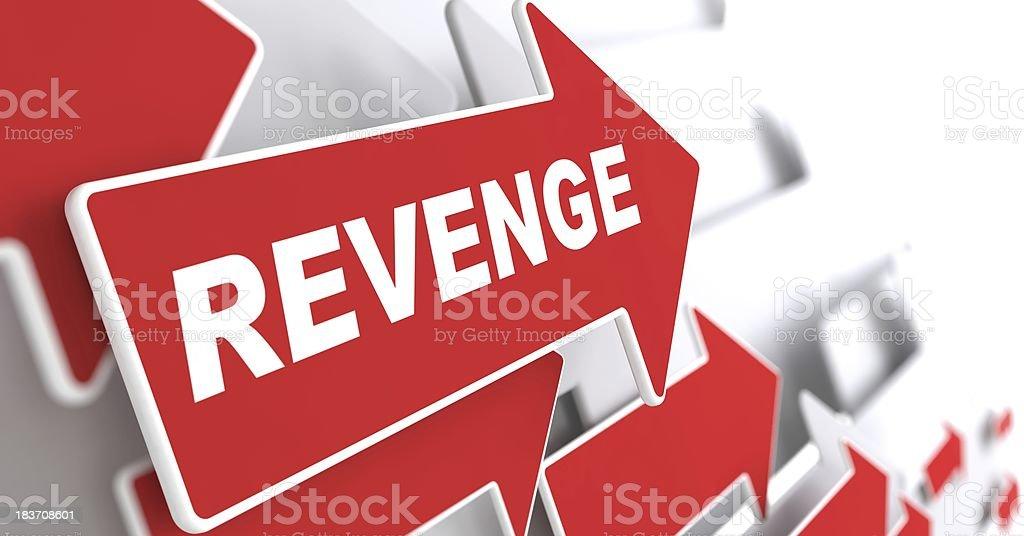 Revenge Concept. stock photo