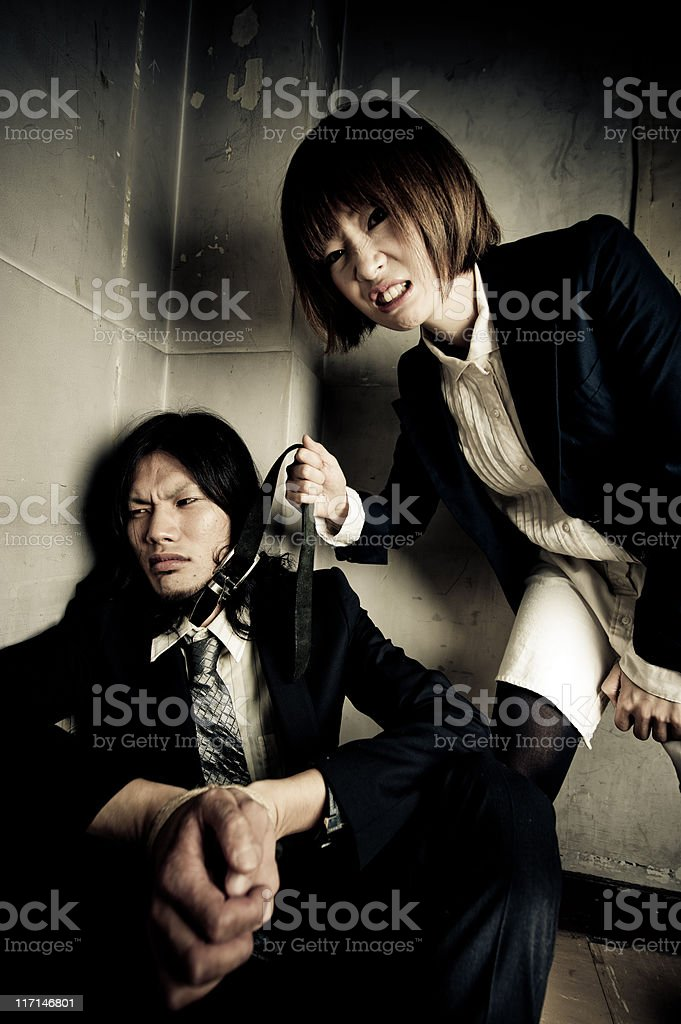 Revenge royalty-free stock photo