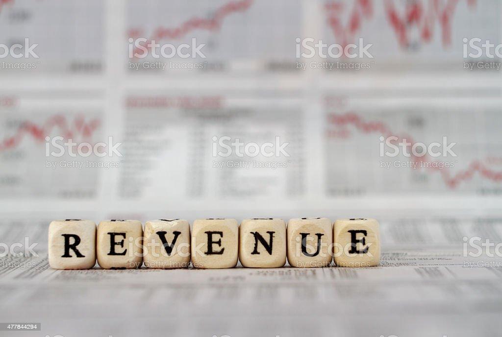 Revenue stock photo