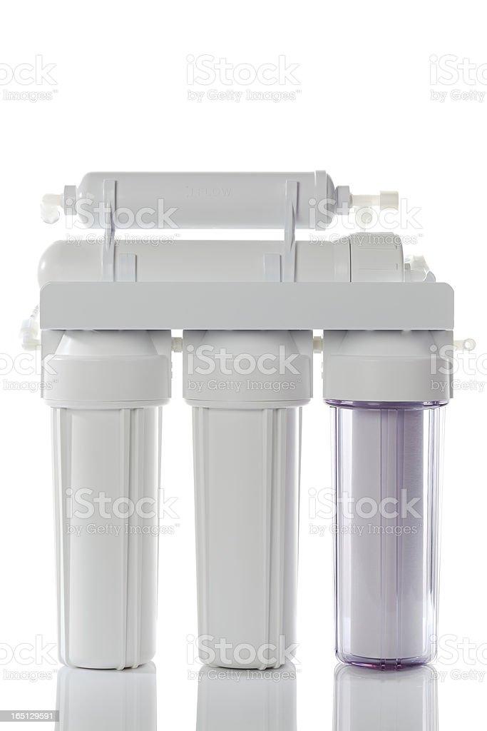 Reverse Osmosis Water Filter stock photo