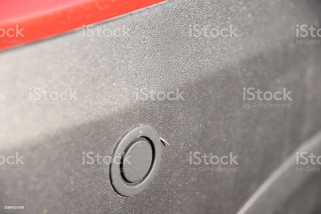 Reverse sensor stock photo