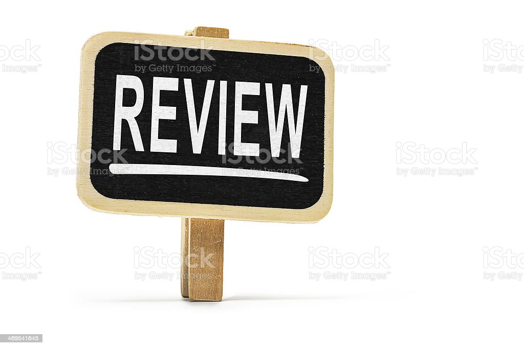 Review stock photo