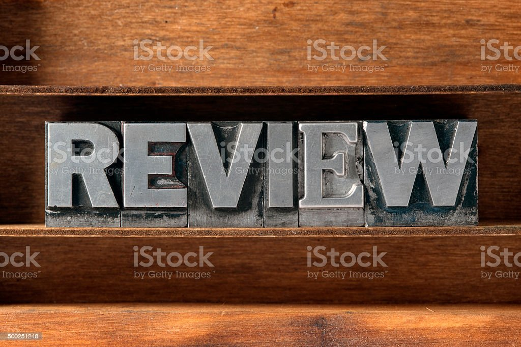 review word tray stock photo