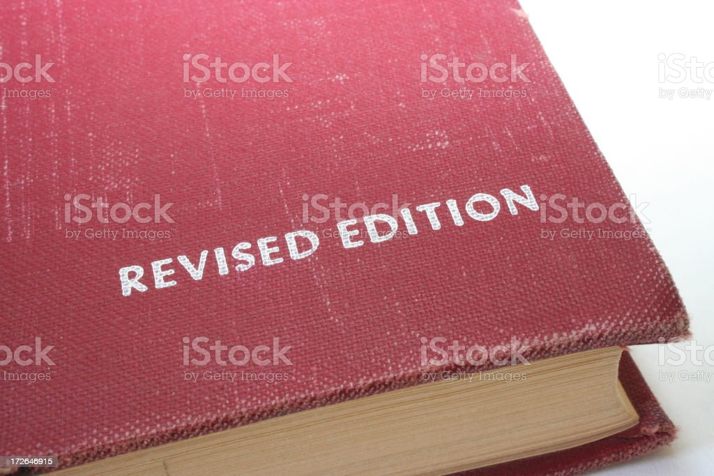 Revised Edition stock photo