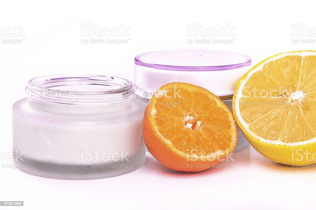 revitalizing cream royalty-free stock photo