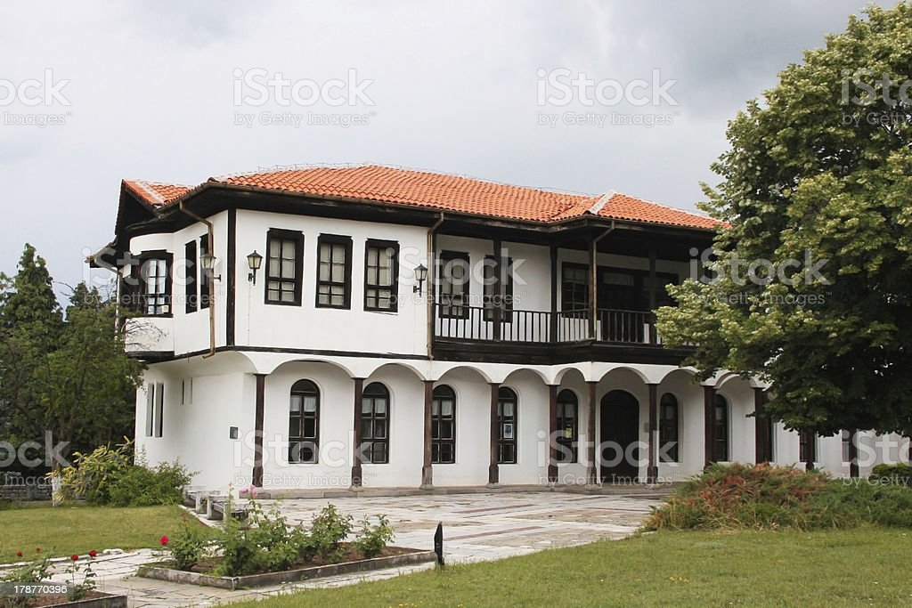 Revival house royalty-free stock photo