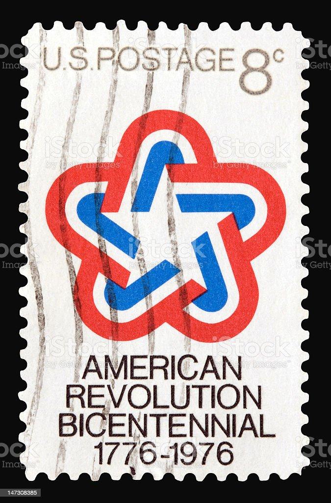 Revolution 1976 stock photo