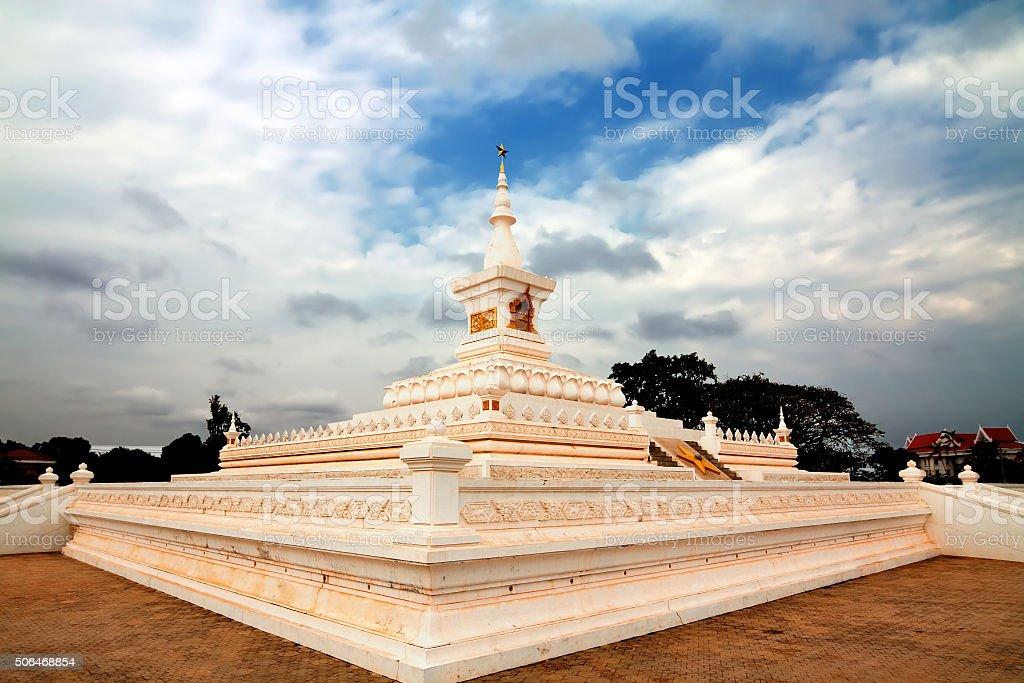 Revolution Monument, Vientiane,  Laos stock photo