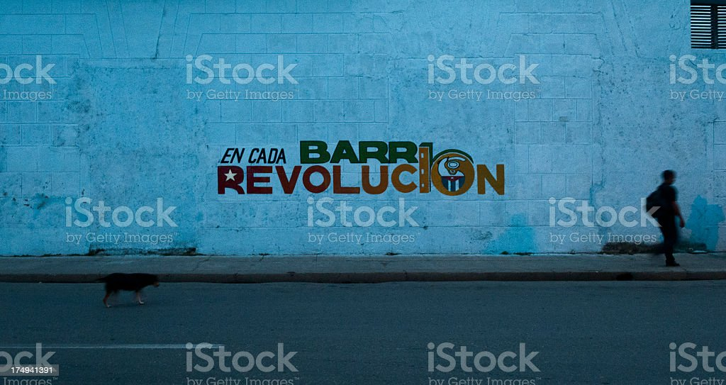 Revolution royalty-free stock photo