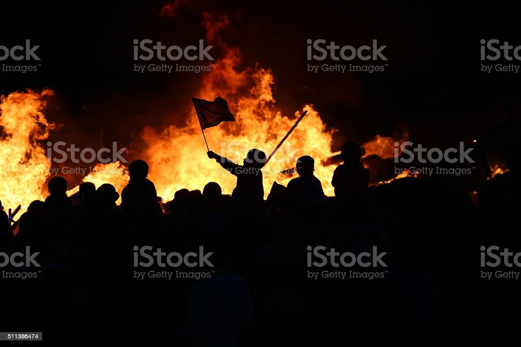 Revolution stock photo