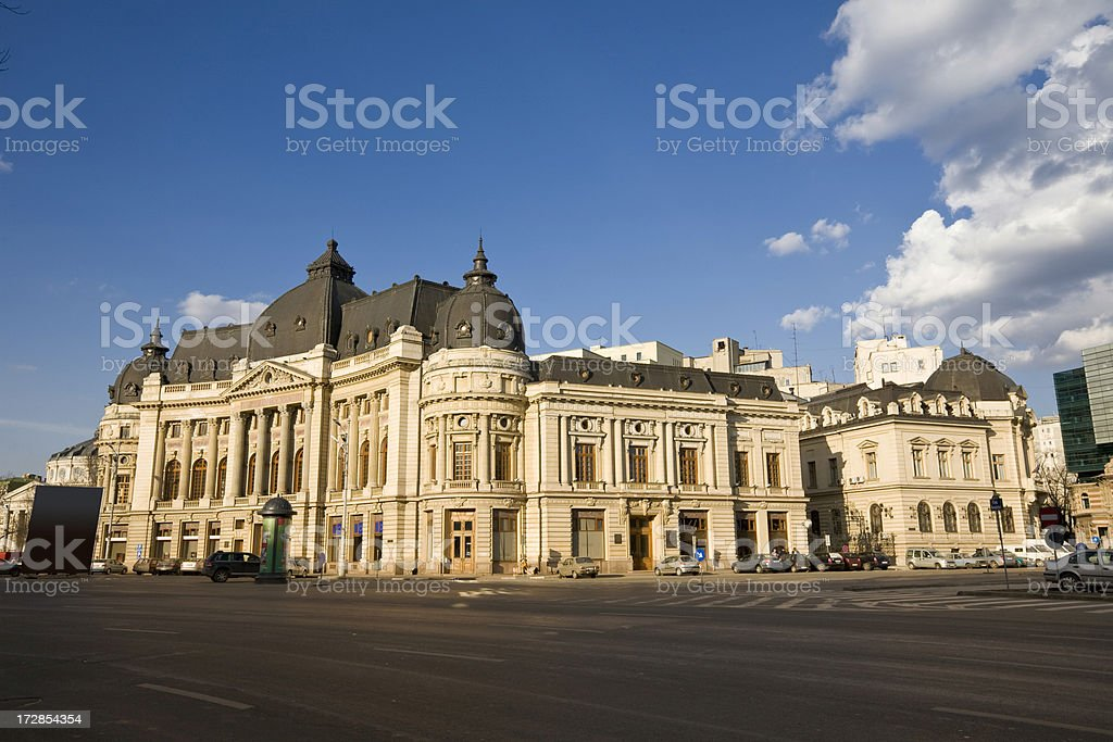 Revolution Square Bucharest Romania royalty-free stock photo