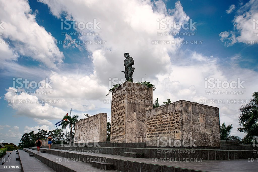 Plaza de la Revolucion- Che Guevara Mausoleum stock photo