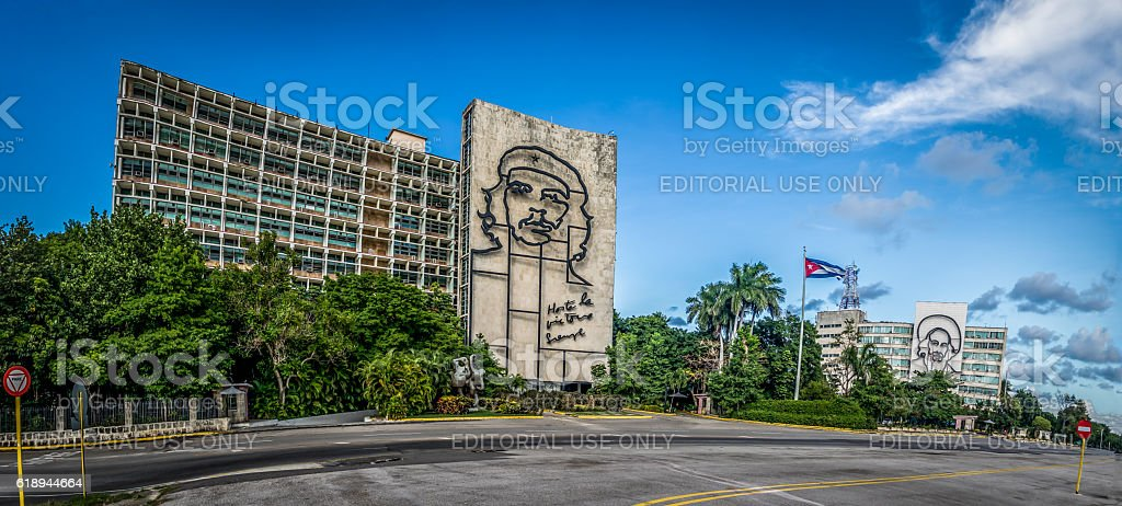 Revolution Square (Plaza de la Revolucion) - Havana,  Cuba stock photo