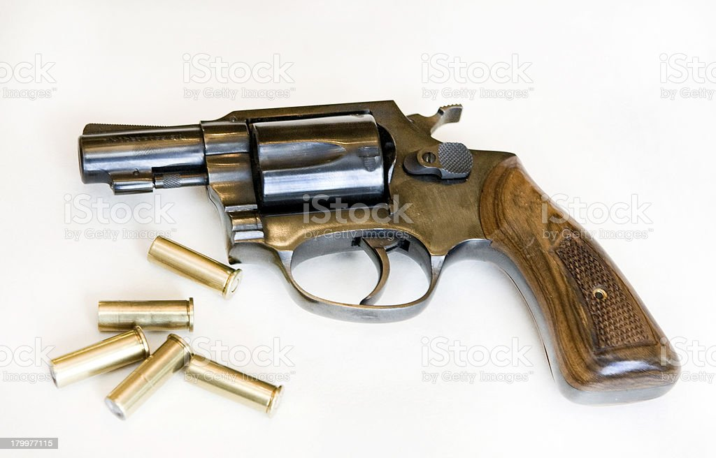 revolver royalty-free stock photo