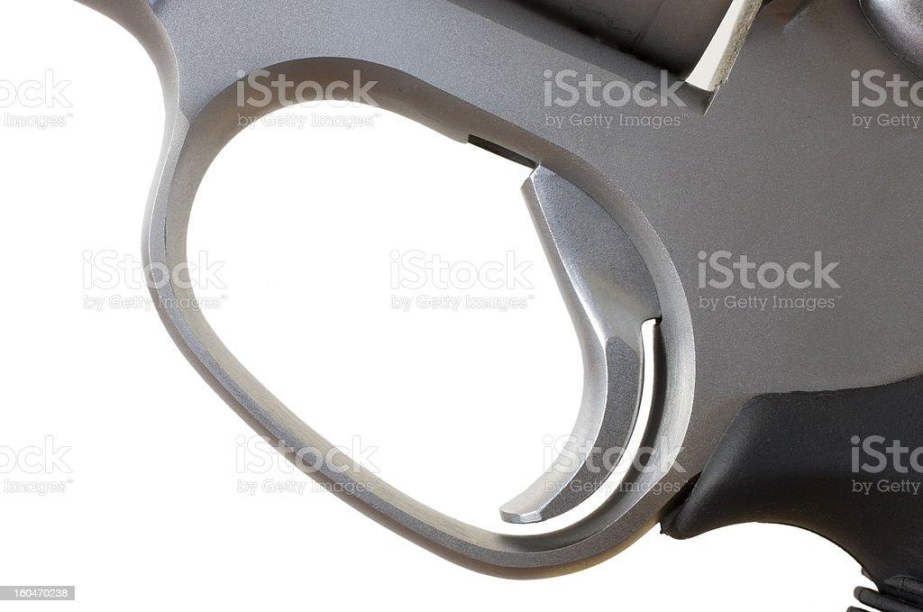 Revolver trigger royalty-free stock photo