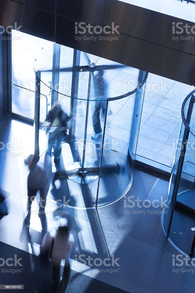 Revolving Door royalty-free stock photo
