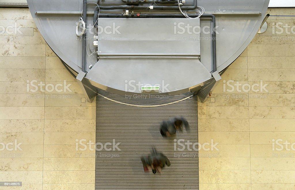 Revolving Doors stock photo