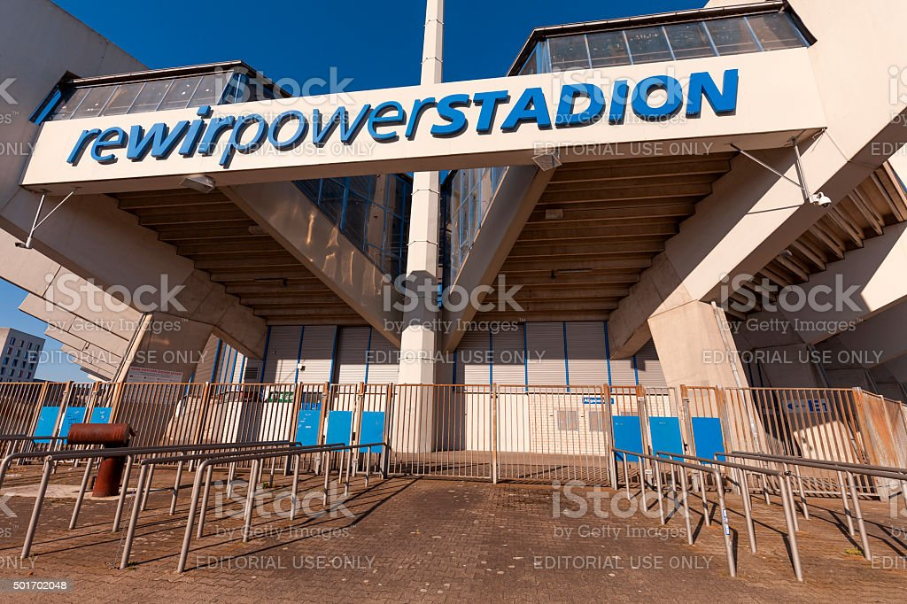 rewirpowerstadion stock photo