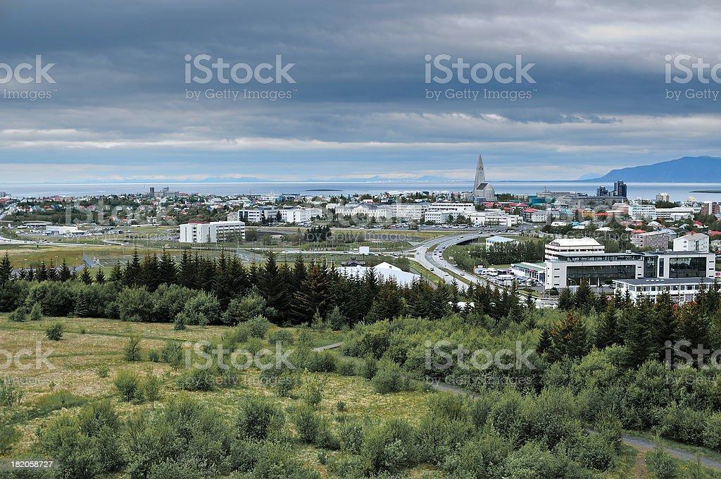 Reykjavik City Iceland royalty-free stock photo