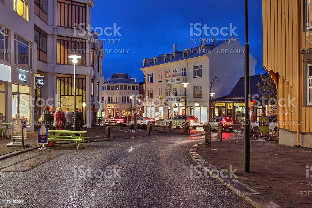 Reykjavik, Iceland stock photo