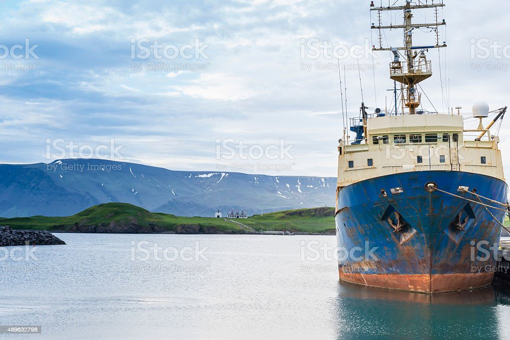 Reykjavik - Iceland stock photo