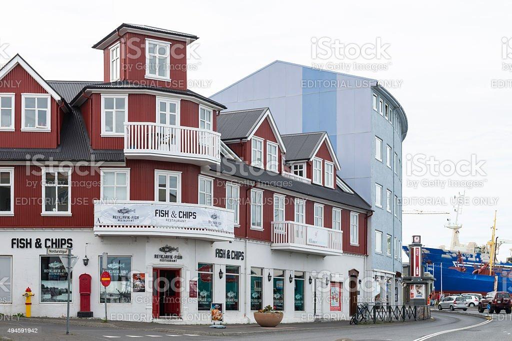 Reykjavik - Iceland stock photo