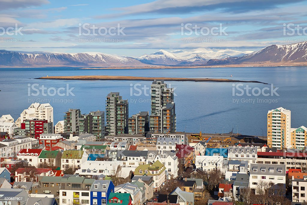 Reykjavik, Iceland stock photo