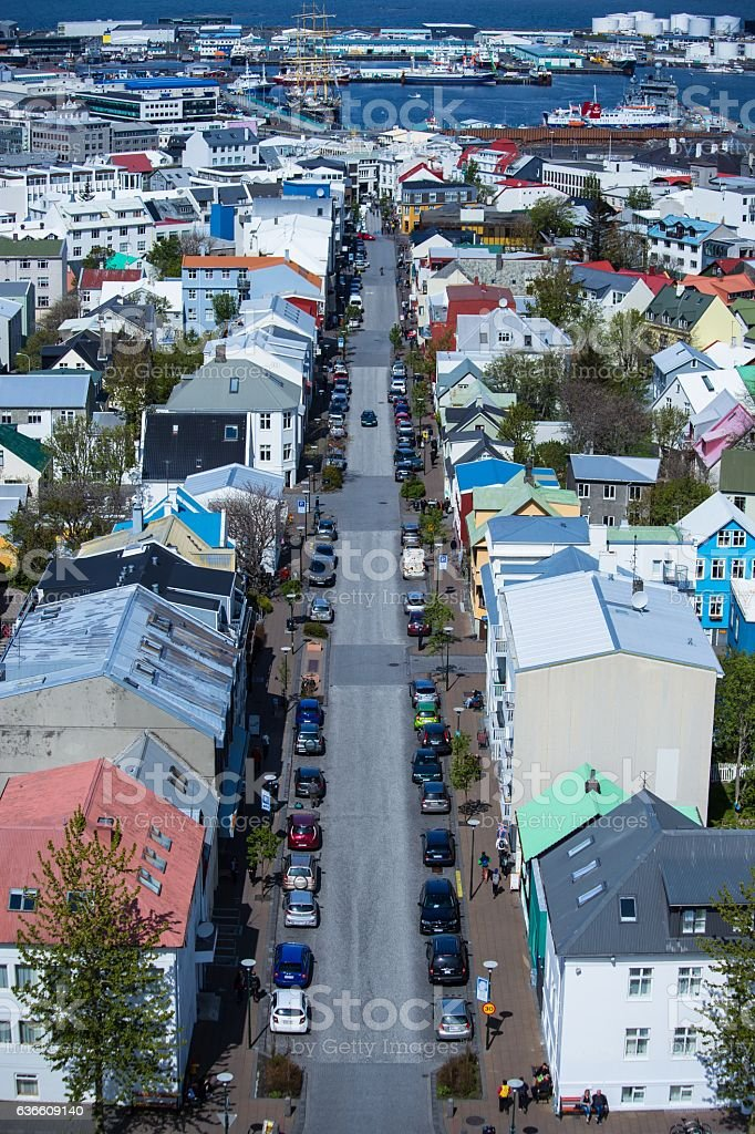 Reykjavik Iceland stock photo