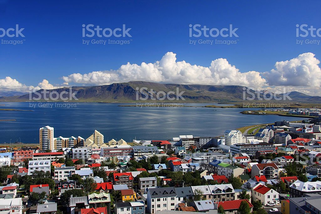 Reykjavik royalty-free stock photo