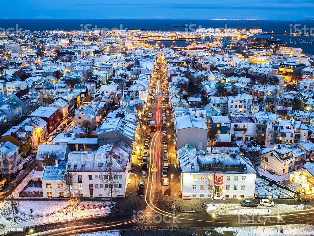 Reykjavík stock photo