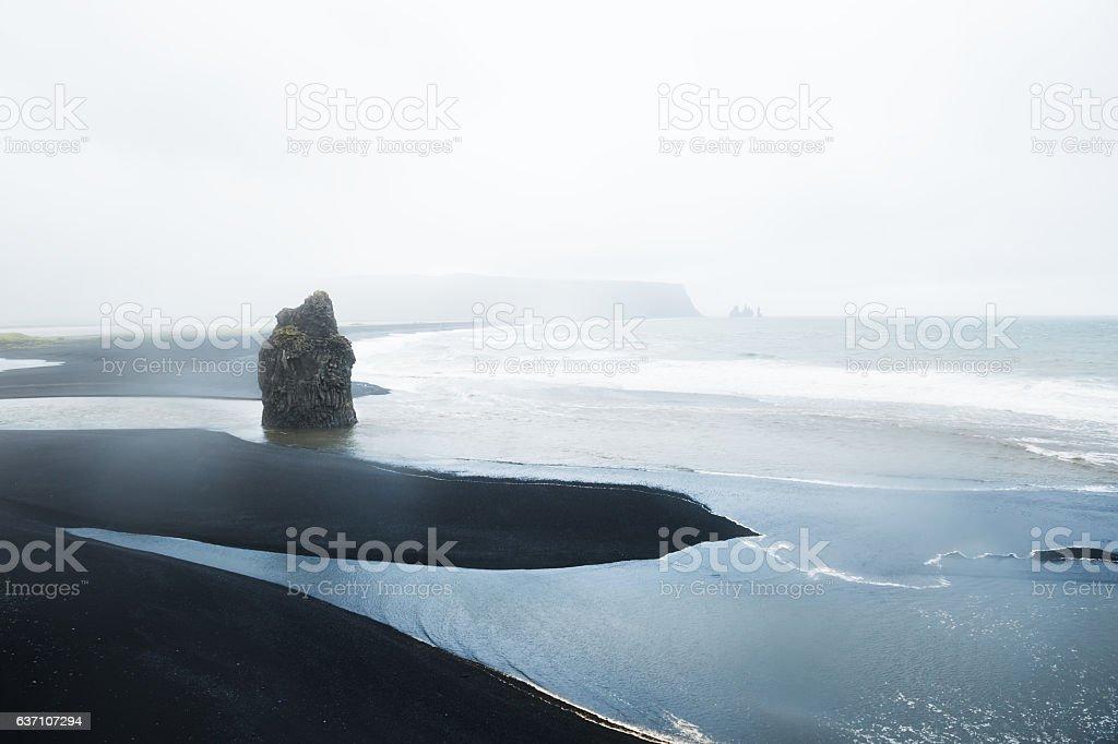 Reynisfjara beach, Iceland stock photo