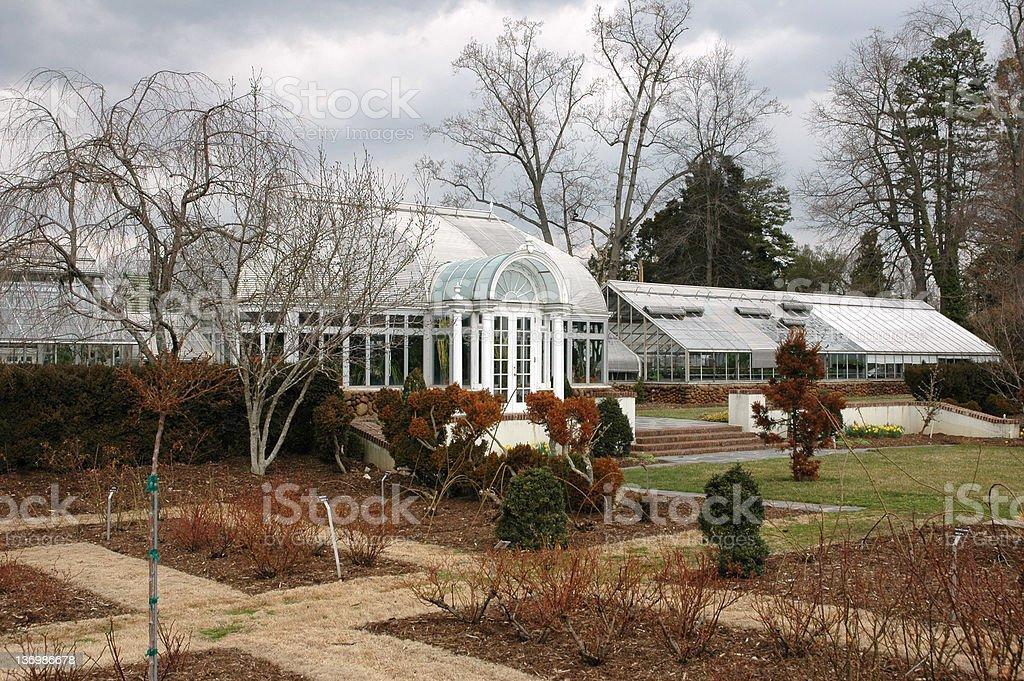 Reynolda Gardens royalty-free stock photo
