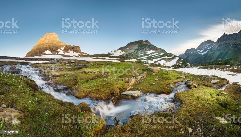 Montana - Western USA, Field, Meadow, River, Springtime