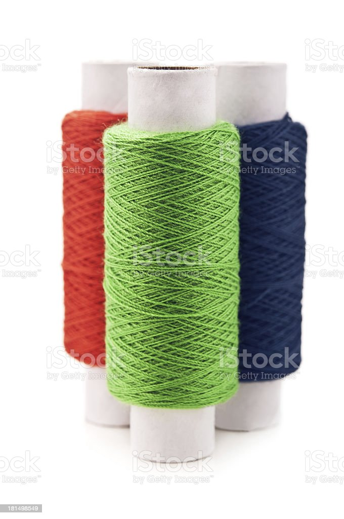 rgb color threads royalty-free stock photo