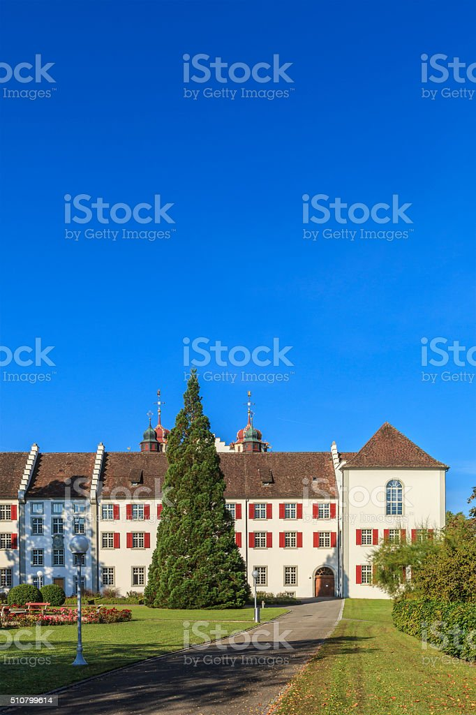 Rheinau Abbey - Switzerland stock photo