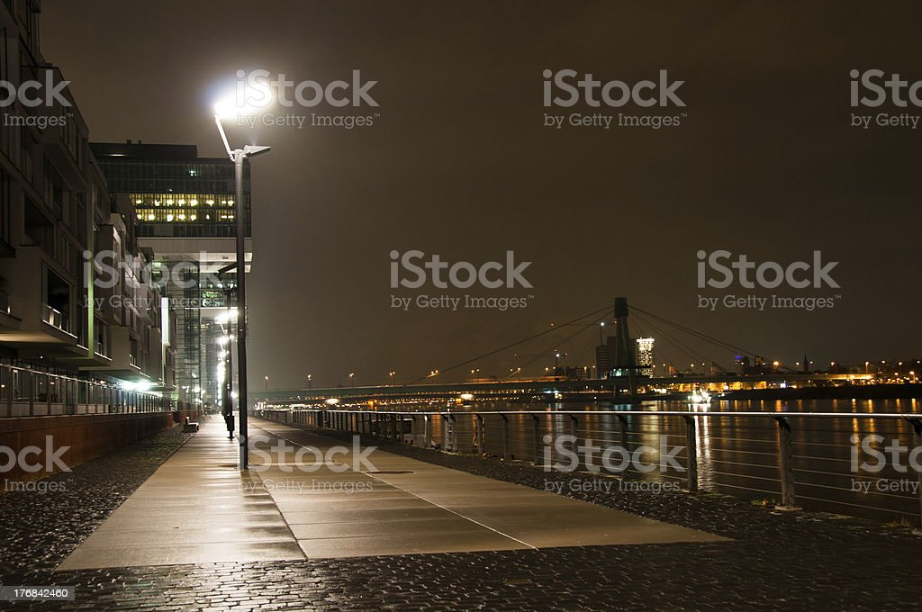 Rheinauhafen in Cologne, Germany stock photo