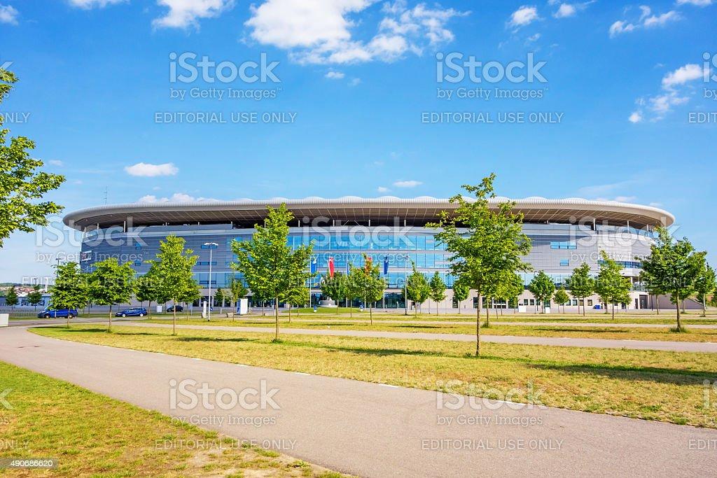 Rhein-Neckar Arena, Sinsheim stock photo