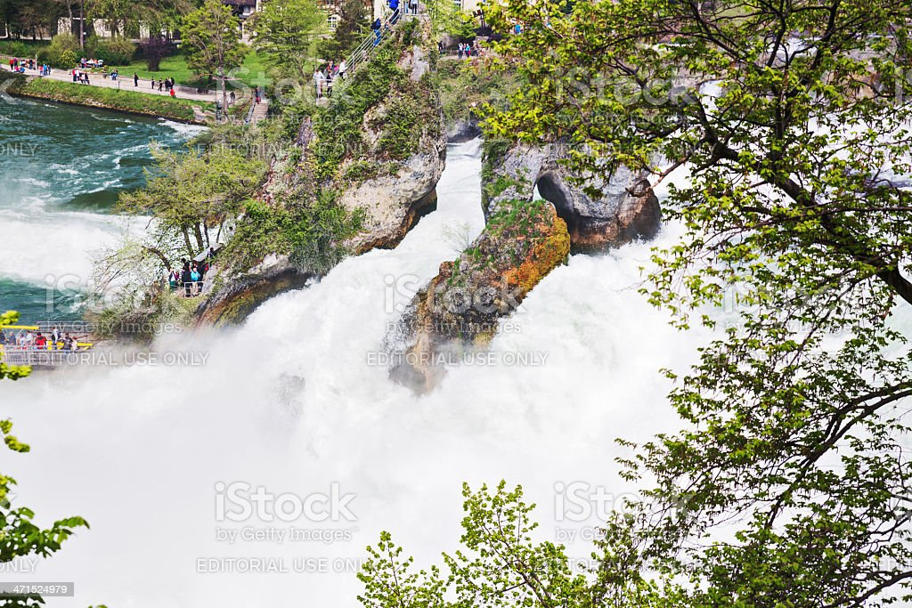 Rhine Falls royalty-free stock photo