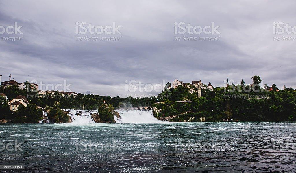 Rhine falls, Switzerland stock photo