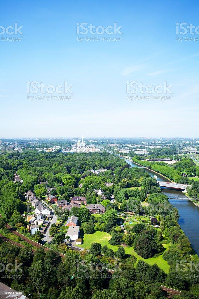 Rhine-Herne-Canal stock photo
